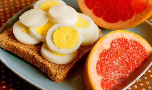 Яичная диета: меню