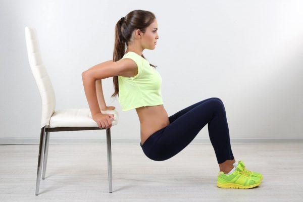 Упражнения для похудения рук и плеч
