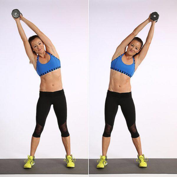 Эффективные упражнения для талии и боков