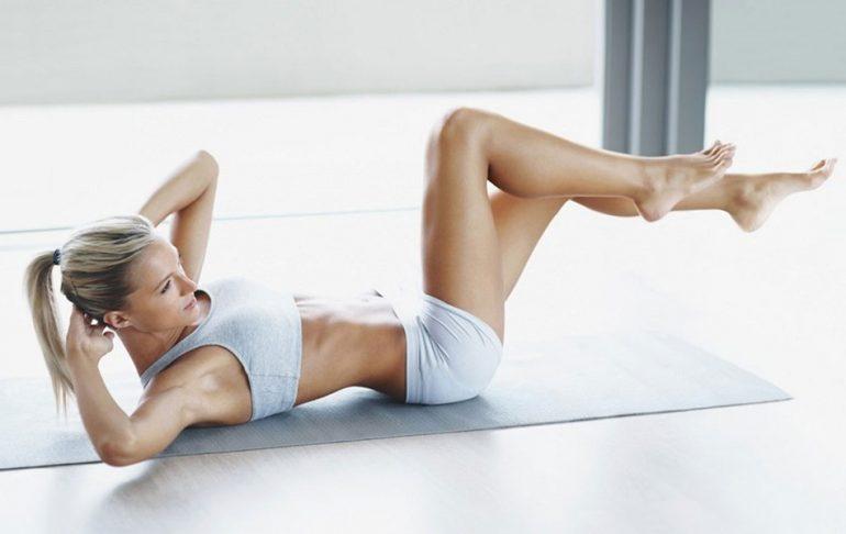 Нижний пресс упражнения для девушек дома