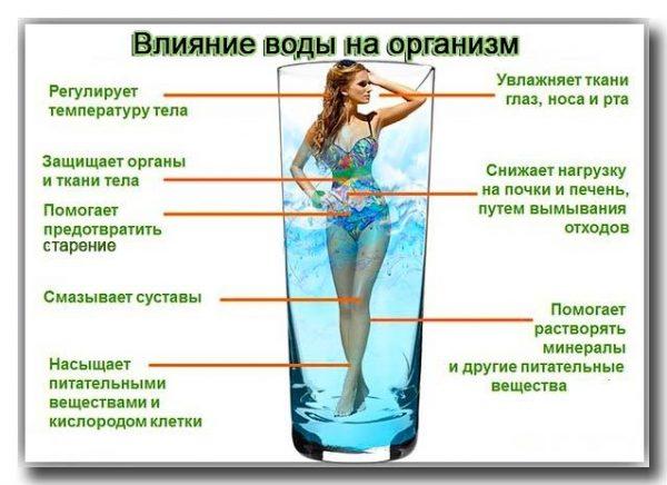 Сколько пить воды в день для похудения