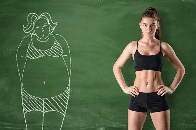 Быстро убрать жир с живота и боков