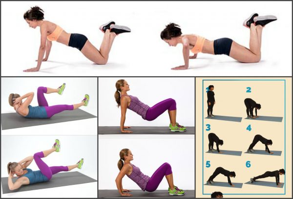 Комплекс упражнений при диастазе прямых мышц живота