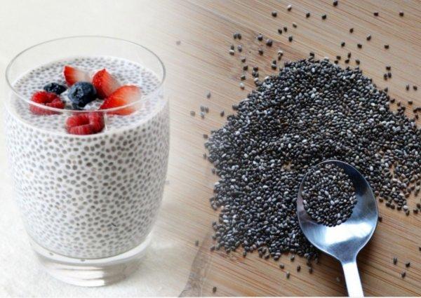 Как употреблять семена чиа для похудения