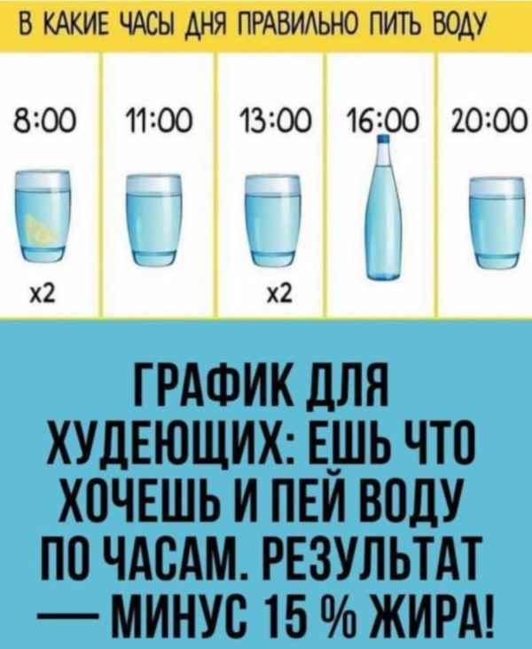 Почему нужно пить много воды в день