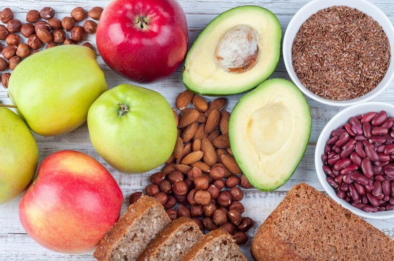 Продукты с высоким содержанием клетчатки для похудения
