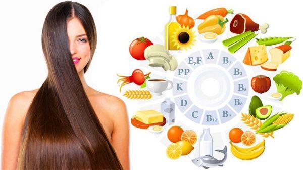 Продукты, способствующие росту волос