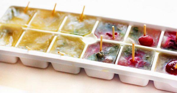 Кубики льда от морщин