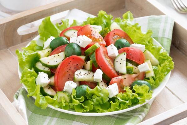 Простые салаты для похудения