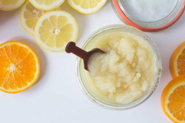 Сахарный скраб от целлюлита