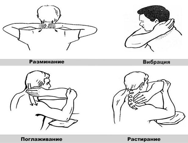 Как убрать отложение солей на шее