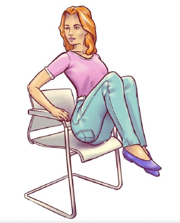 Упражнения на стуле для похудения