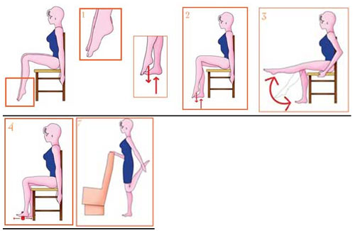 Упражнения от варикоза на ногах