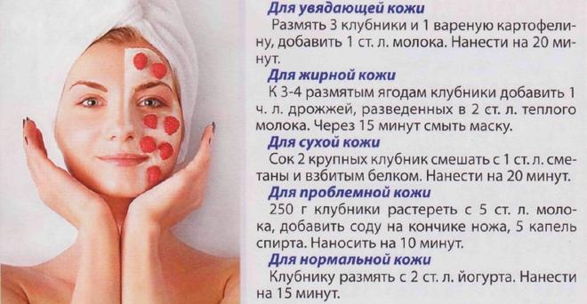 Маски для подтяжки овала лица