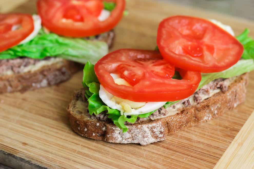 Бутерброды на завтрак - 237 рецептов приготовления пошагово