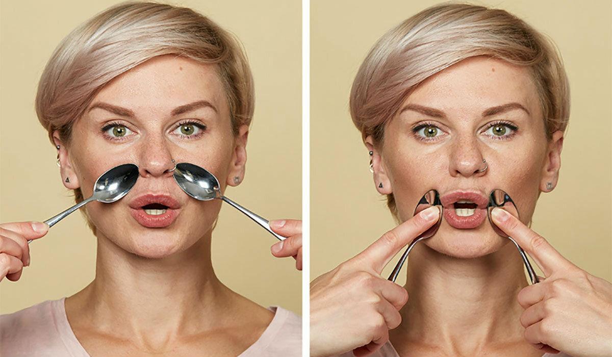 Как убрать носогубные складки