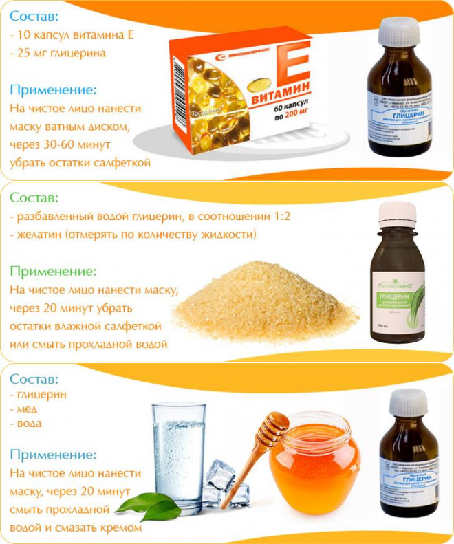 Применение витамина Е для лица от морщин
