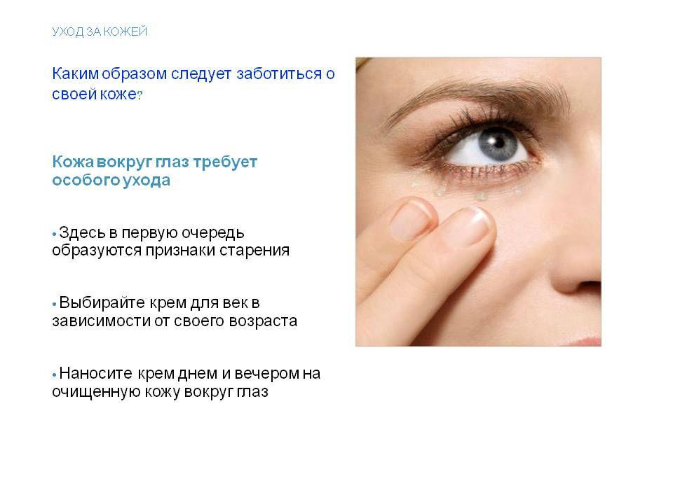 Как выбрать и правильно нанести крем вокруг глаз