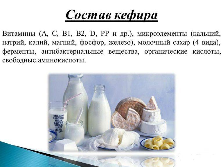 Кефир: польза и вред для организма