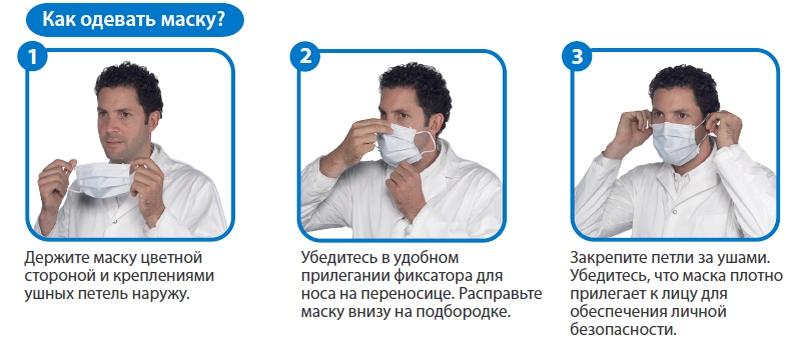 Как быстро сделать медицинскую маску