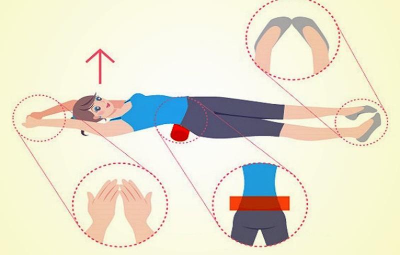 Японский метод похудения с валиком