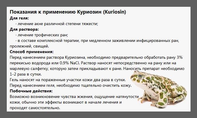 Эффективность геля «Куриозин» от морщин