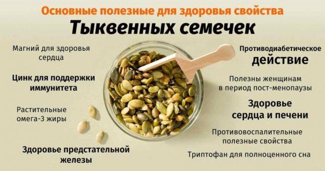 Польза тыквенных семечек для мужчин и женщин