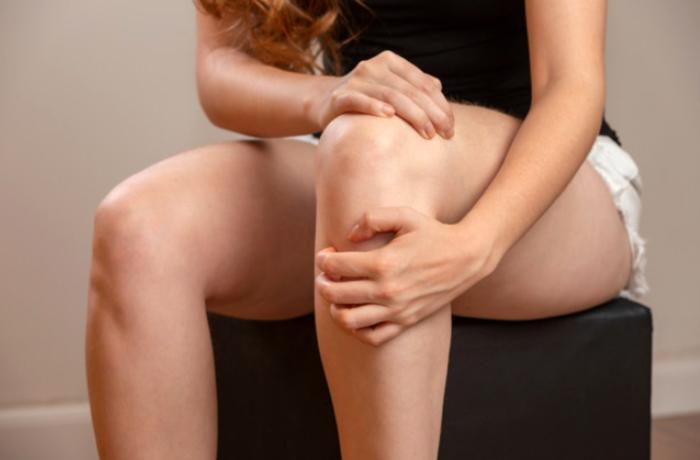 Как избавиться от жира на коленях в домашних условиях