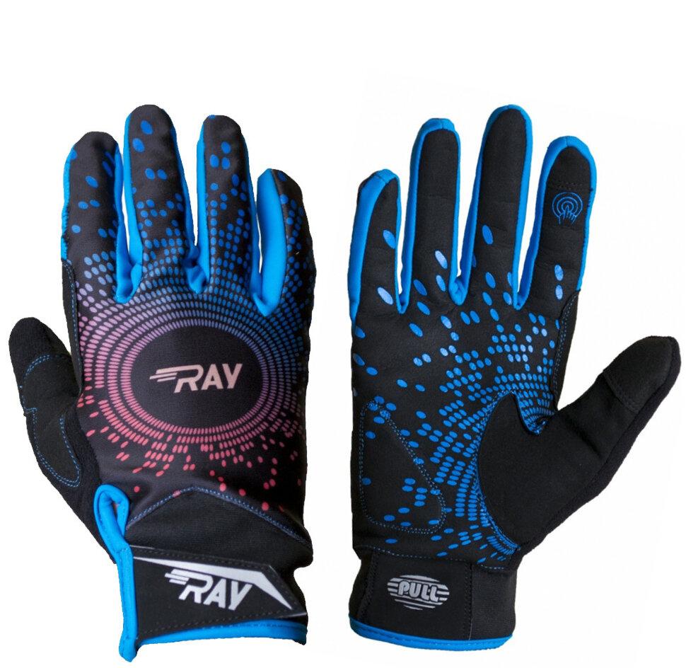 женские перчатки для бега зимой