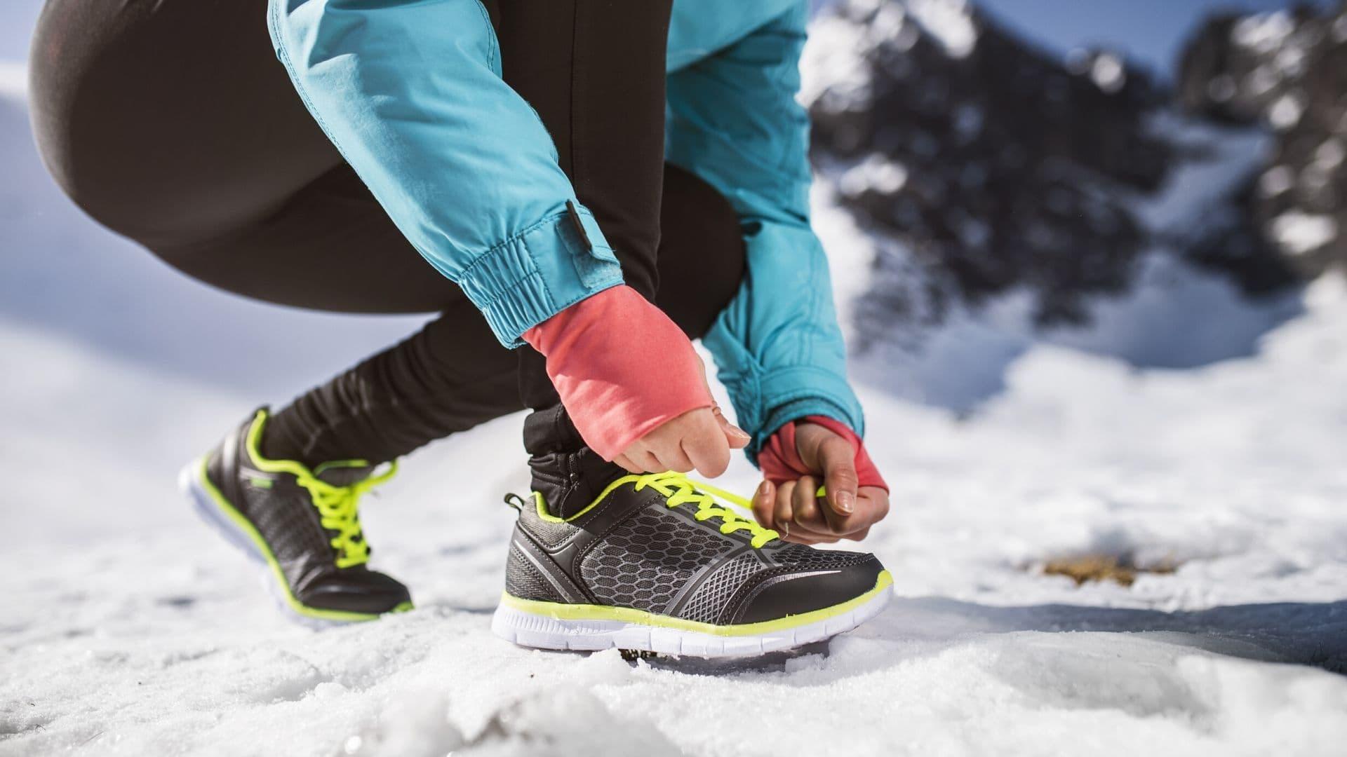 женская зимняя одежда для бега