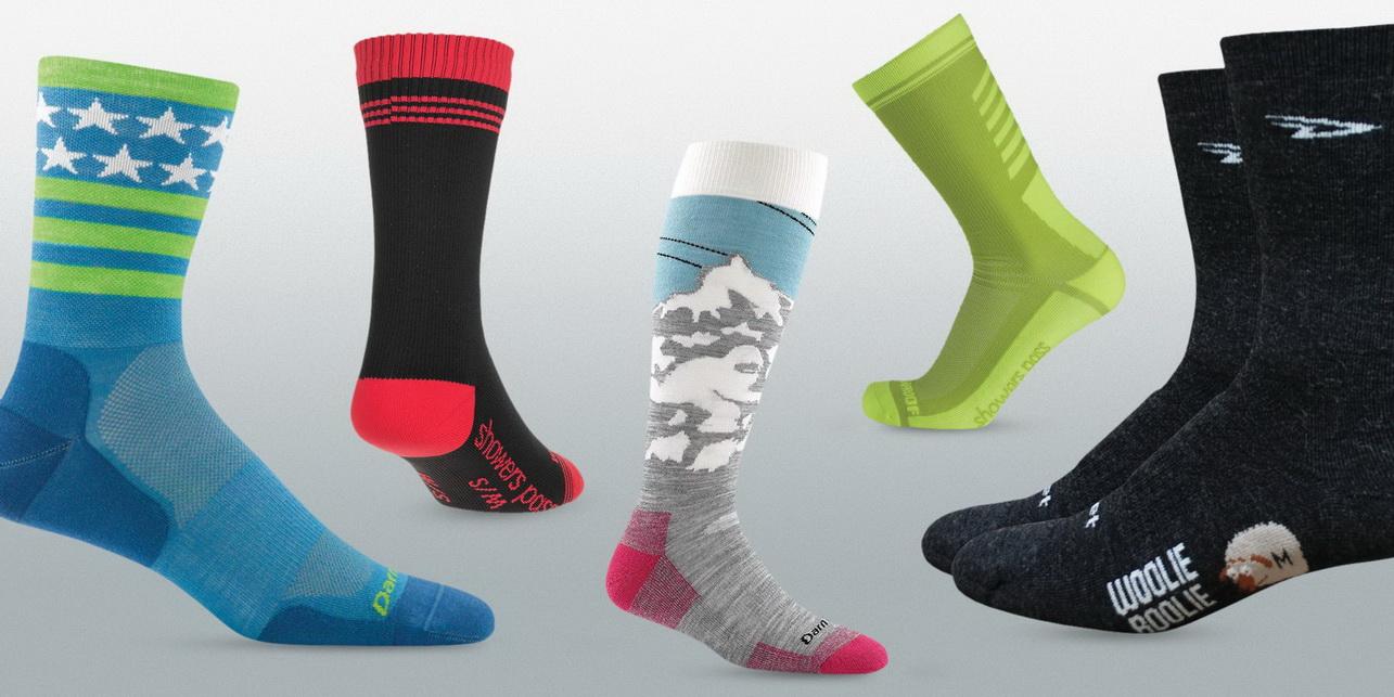 женские носки для бега зимой