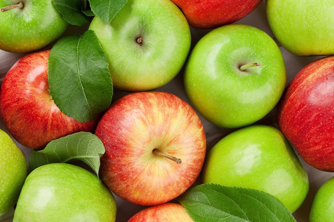 яблоки для осенней диеты