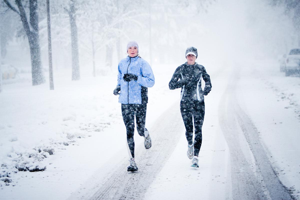 женская одежда для бега зимой