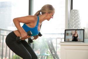 Онлайн фитнес с Motify
