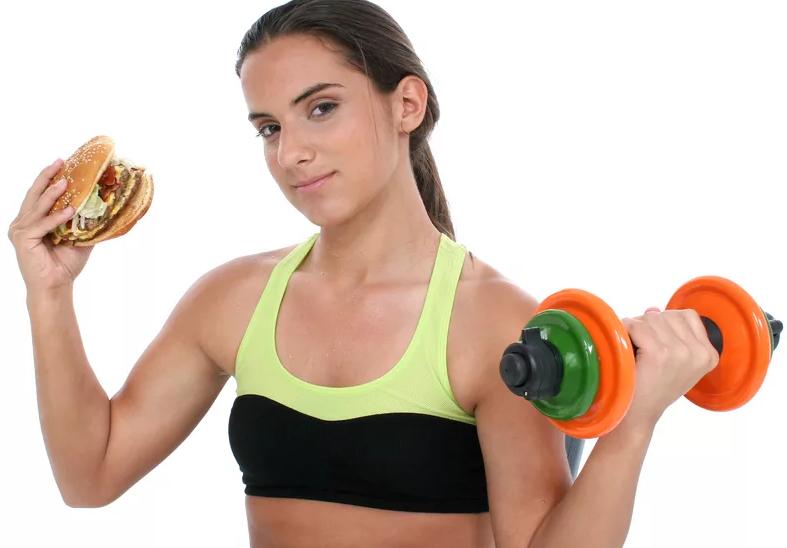 Диета для набора мышечной массы девушкам: меню на каждый день